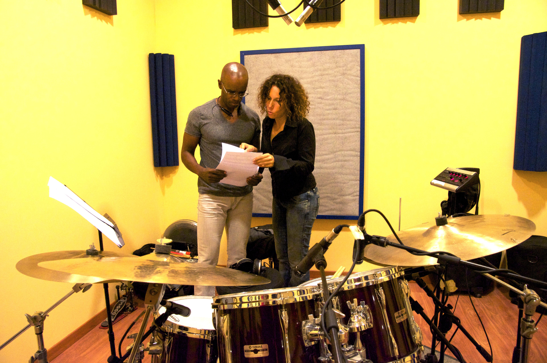 Cd Recording Paola Quagliata and Rudy Royston