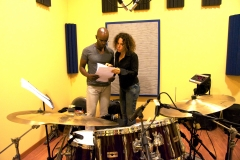 Cd Recording Paola Quagliata and Rudy Royston