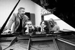 Luca Garlaschelli, Davide Corini, Paola Quagliata and Rudy Royston
