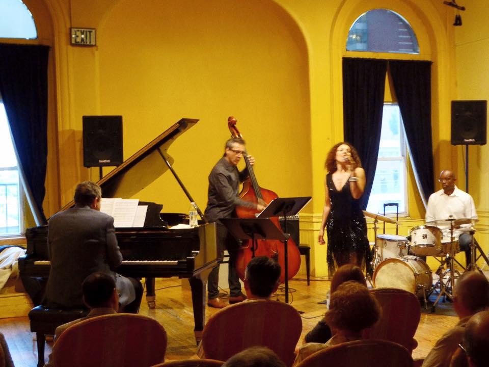 An die Musik, Baltimore US w/Bruce Barth, Joseph Lepore, Rudy Royston
