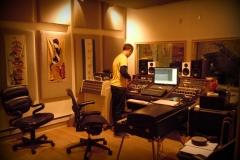 Cd recording at The Samurai Hotel Studio, NYC David Stoller.
