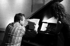 NYC rehearsals - Bruce Barth and Paola Quagliata